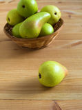 Pears on the plate Royalty Free Stock Image