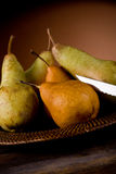 Pears in poor art style Stock Photos