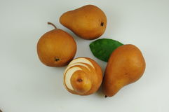 Pears ready to eat Royalty Free Stock Photos