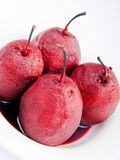Pears with red wine Royalty Free Stock Photography