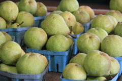 Pears for sale Stock Image