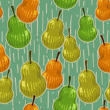 Pears Seamless Pattern Royalty Free Stock Image