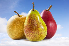 Pears and Sky Royalty Free Stock Images