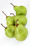 Pears. Some pears with white background Stock Photography