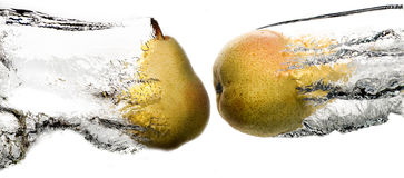 Pears strike Stock Photography