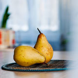 Pears on the table. Royalty Free Stock Photography