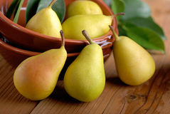 Pears on the table Royalty Free Stock Photos