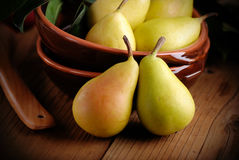 Pears on the table Royalty Free Stock Image