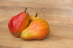 View of the Pears / Fresh seasonal fruits Royalty Free Stock Images