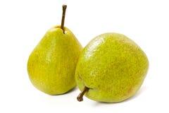 pears två Royaltyfri Fotografi