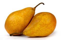 pears två Fotografering för Bildbyråer