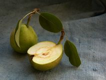 pears två Arkivfoton