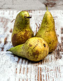 Pears in vertical Stock Photo