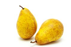 Pears on white Royalty Free Stock Photography