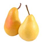 Pears on a white Royalty Free Stock Image