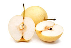 Pears  on White Background Royalty Free Stock Photos