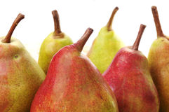 Pears on white background Royalty Free Stock Photo