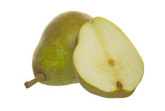 Pears in a white background Royalty Free Stock Photos