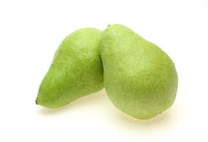 Pears in a white background Royalty Free Stock Image