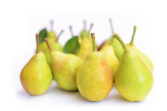 Pears on white Stock Image