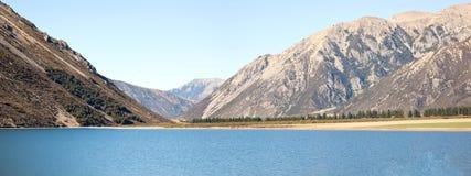 Pearson Arthur van het meer pas Nieuw Zeeland royalty-vrije stock fotografie