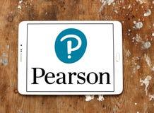 Pearson edukaci firmy logo Zdjęcie Stock