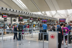 Pearson International Airport du Canada Photographie stock libre de droits