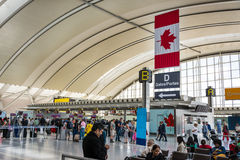 Pearson International Airport du Canada Image libre de droits
