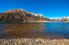 Pearson lake, New Zealand Royalty Free Stock Photo