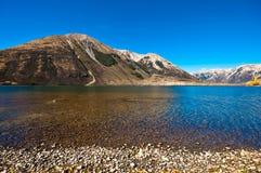 Pearson meer, Nieuw Zeeland Royalty-vrije Stock Foto