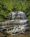 Pearsons Falls. An image of Pearsons Falls (Flat Rock, NC) shot in July, 2013, after record rainfall Stock Images