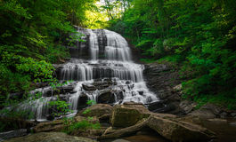 Pearson's Falls near Tryon, North Carolina Stock Image
