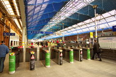 Pearson Train station in Dublin, Ireland Royalty Free Stock Photo