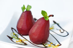 pearsrött vin Arkivbilder