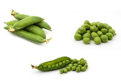 Peas Royalty Free Stock Photo