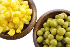 Free Peas And Corn Royalty Free Stock Image - 14486016