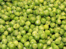 Peas background Stock Photos