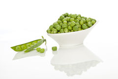 Peas background. Royalty Free Stock Images