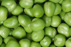 Peas Background Stock Photo