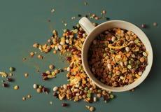 Peas and bean Royalty Free Stock Photos