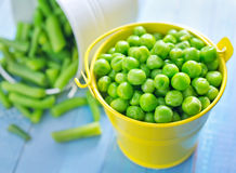 Peas and bean Stock Photos