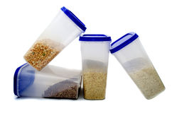 Peas, buckwheat, rice, millet Royalty Free Stock Photo