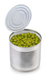 Peas can Stock Photography
