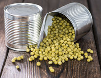 Peas in a Can Stock Images