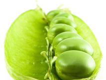 Peas close-up Royalty Free Stock Photography