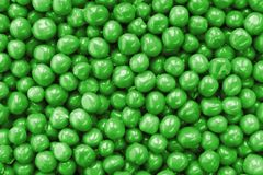 Peas closeup background Stock Photo