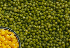 Free Peas Corn Background Royalty Free Stock Photos - 53971428
