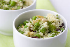 Peas Couscous Royalty Free Stock Photos