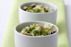 Peas Couscous Stock Photo