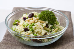 Peas Couscous Royalty Free Stock Images